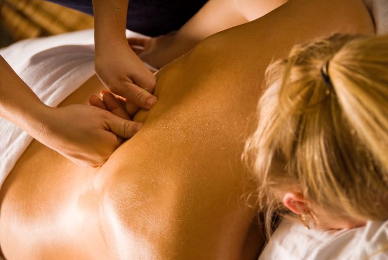 Возбуждающий массаж для женщины