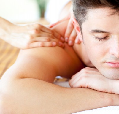 Back massage for pain relief