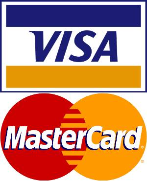 visas and credit card